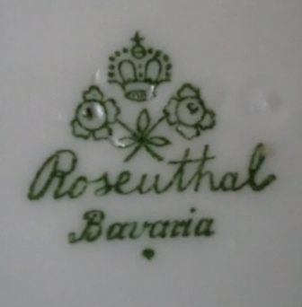 dating rosenthal porcelain Shop from the world's largest selection and best deals for rosenthal porcelain & china shop with marked to the base with green rosenthal backstamp dating it to.