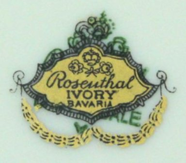 dating rosenthal porcelain marks There were and are many factories producing hutschenreuther porcelain  that didn't have significance to the dots in their marks  owner rosenthal ag 95100 .
